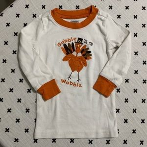 GYMBOREE | Turkey Gobble TIL you Wobble LS